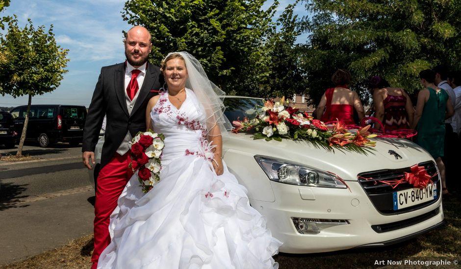 Le mariage de Julien et Elise à Saint-Crépin-Ibouvillers, Oise