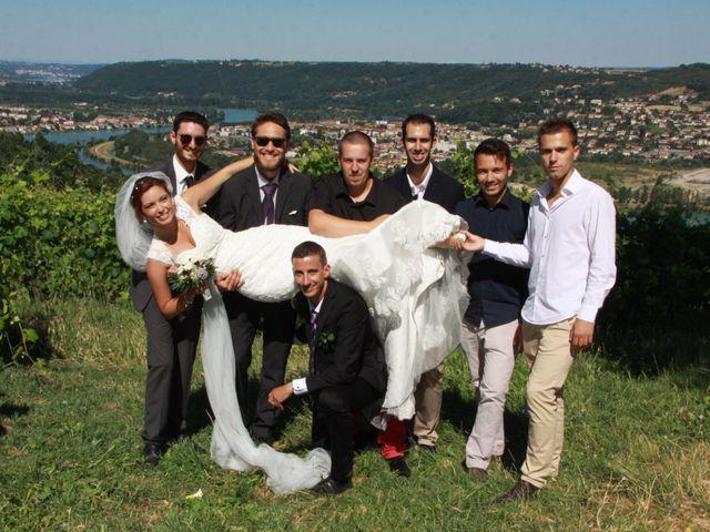 Le mariage de Noémie et Loïc à Saint-Michel-sur-Rhône, Loire 71