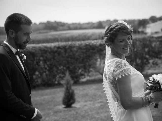 Le mariage de Mathieu et Amandine à Plassac, Charente Maritime 5