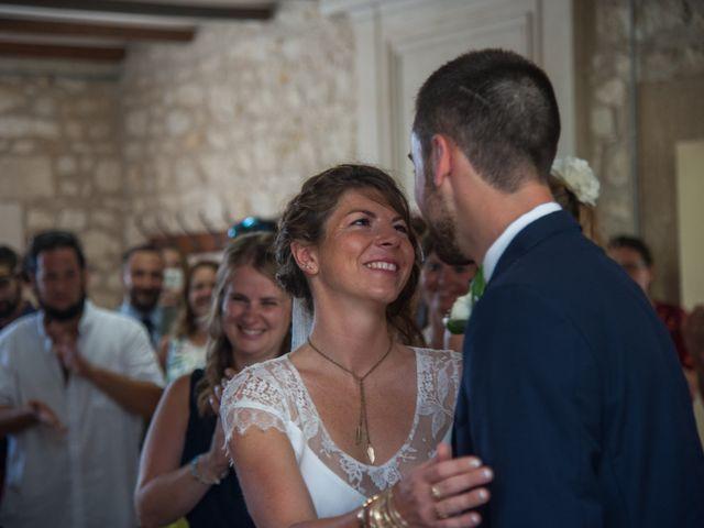 Le mariage de Mathieu et Amandine à Plassac, Charente Maritime 11