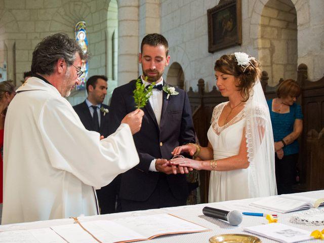 Le mariage de Mathieu et Amandine à Plassac, Charente Maritime 15