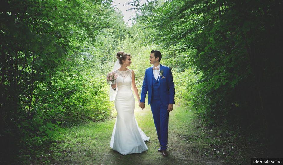 Le mariage de Julien et Laetitia à Les Écrennes, Seine-et-Marne