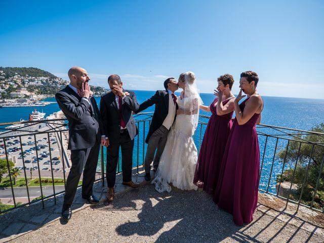 Le mariage de Geoff et Cécile à Nice, Alpes-Maritimes 20