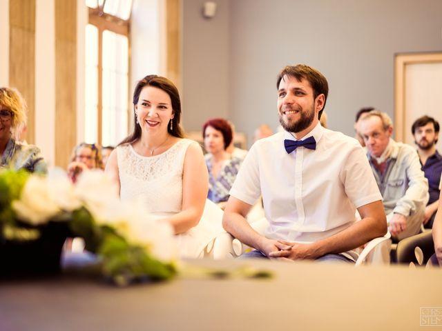 Le mariage de Christian et Emilie à Haguenau, Bas Rhin 1