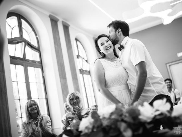Le mariage de Christian et Emilie à Haguenau, Bas Rhin 2