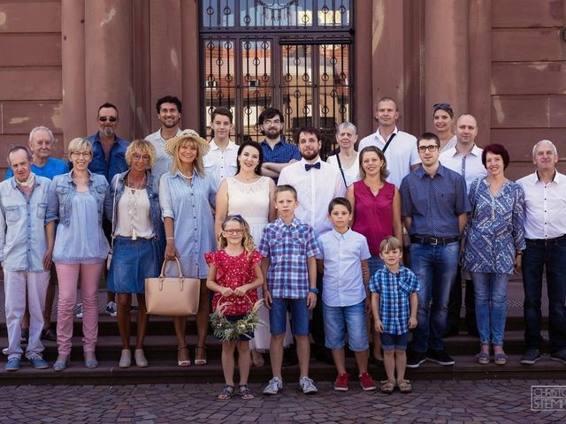 Le mariage de Christian et Emilie à Haguenau, Bas Rhin 5