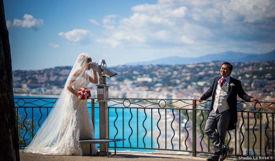 Le mariage de Geoff et Cécile à Nice, Alpes-Maritimes