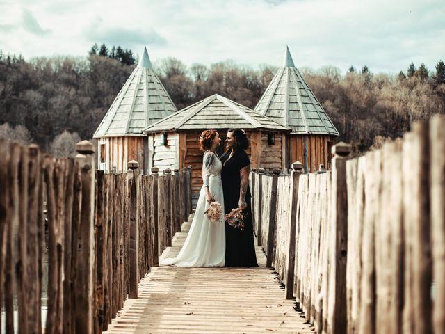Le mariage de Lily et Natacha à Chassey-lès-Montbozon, Haute-Saône 10