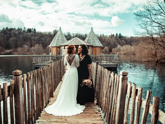 Le mariage de Lily et Natacha à Chassey-lès-Montbozon, Haute-Saône 14