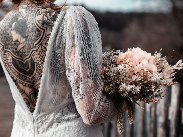 Le mariage de Lily et Natacha à Chassey-lès-Montbozon, Haute-Saône 19