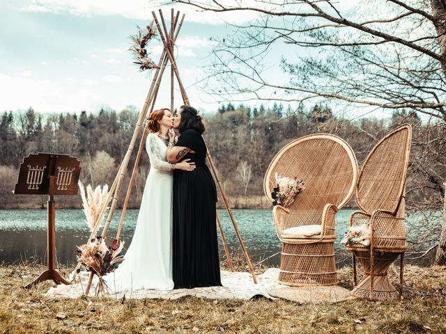 Le mariage de Lily et Natacha à Chassey-lès-Montbozon, Haute-Saône 32