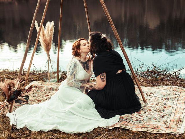 Le mariage de Lily et Natacha à Chassey-lès-Montbozon, Haute-Saône 36