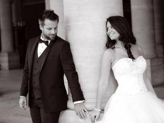 Le mariage de Eléna et Mathias