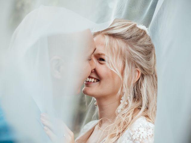 Le mariage de Thibaut et Solène à Amécourt, Eure 1