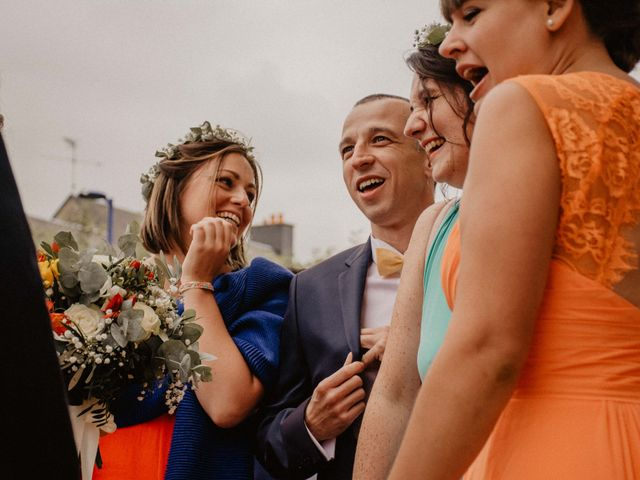 Le mariage de Thibaut et Justine à Barneville-Carteret, Manche 24