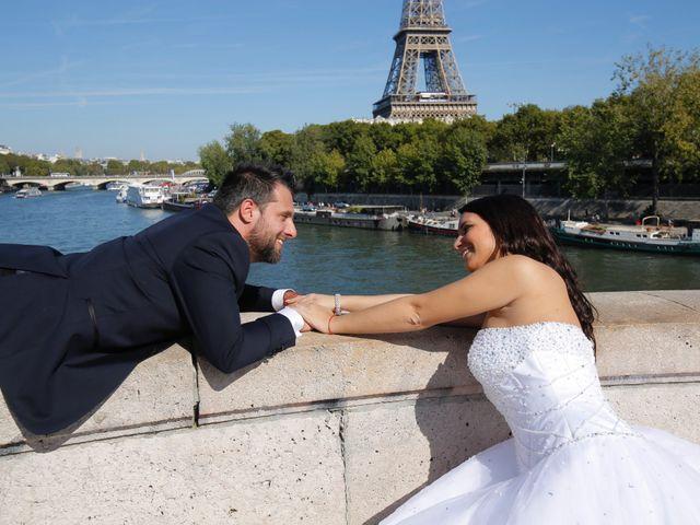 Le mariage de Mathias et Eléna à Les Ulis, Essonne 77