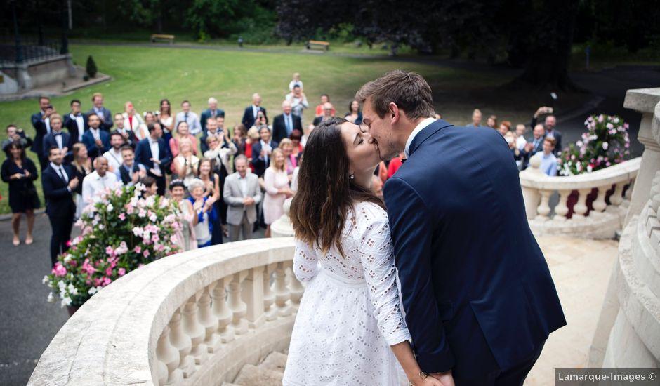Le mariage de Pierre et Amélie à Croix, Nord