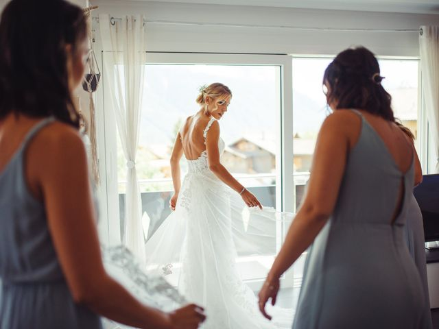 Le mariage de Yannick et Christelle à Montreux, Vaud 14