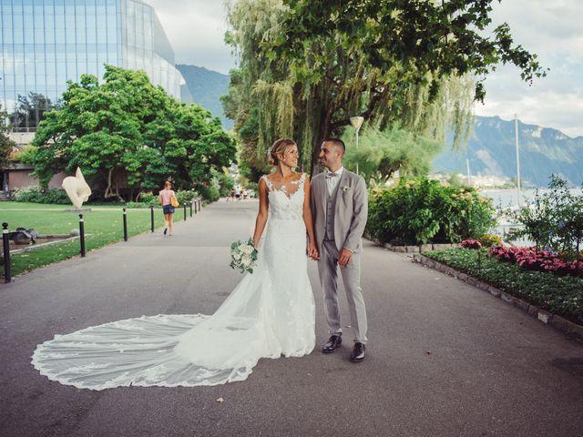 Le mariage de Yannick et Christelle à Montreux, Vaud 68
