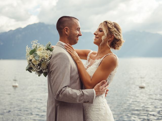 Le mariage de Yannick et Christelle à Montreux, Vaud 73