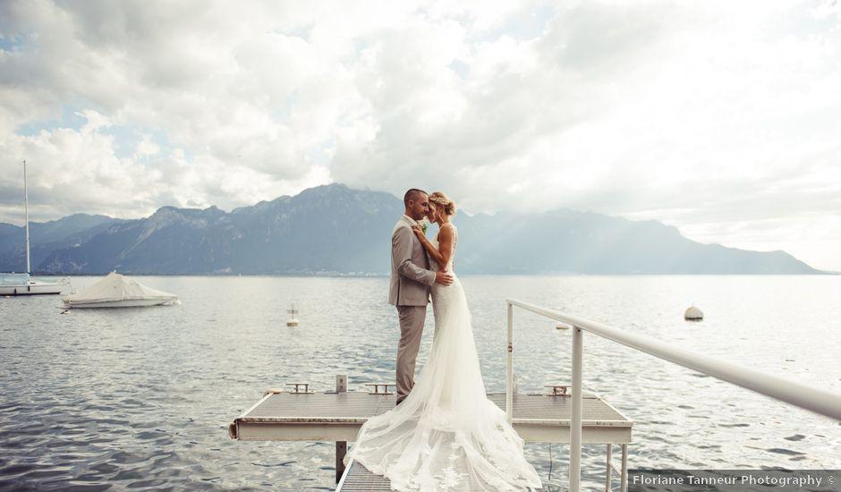 Le mariage de Yannick et Christelle à Montreux, Vaud