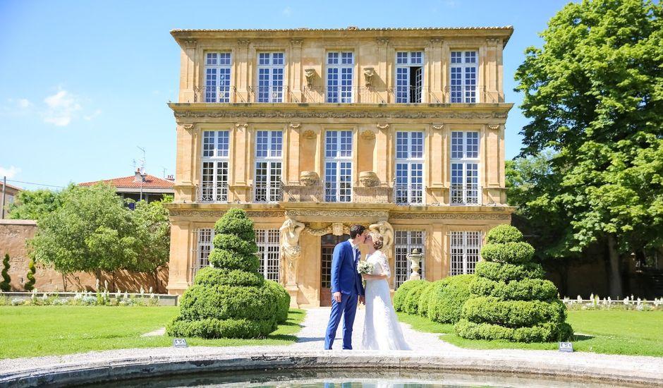 Le mariage de Julien et Coralie à Aix-en-Provence, Bouches-du-Rhône