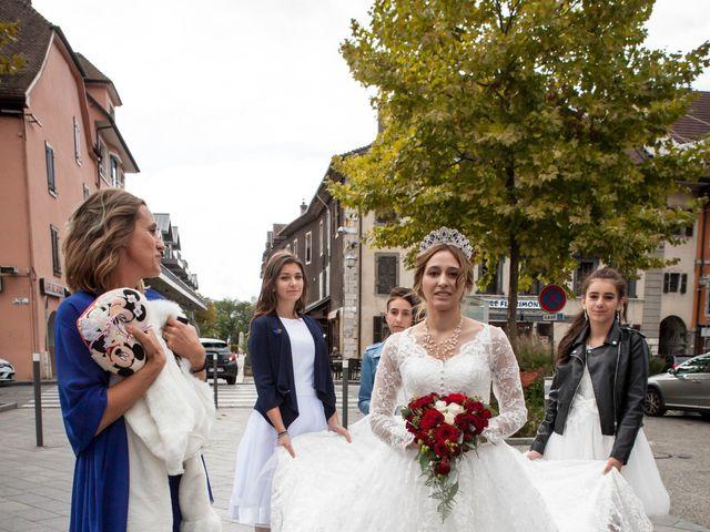 Le mariage de Benjamin et Samantha à Bonneville, Haute-Savoie 20