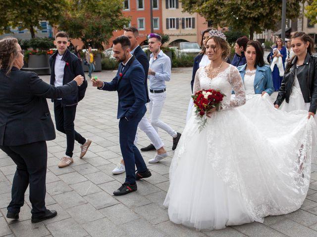 Le mariage de Benjamin et Samantha à Bonneville, Haute-Savoie 21