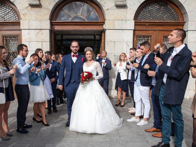 Le mariage de Benjamin et Samantha à Bonneville, Haute-Savoie 35