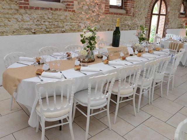 Le mariage de Evan et Ornella à Château-sur-Epte, Eure 9