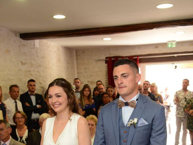 Le mariage de Evan et Ornella à Château-sur-Epte, Eure 34
