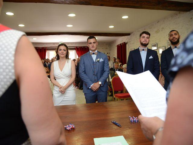 Le mariage de Evan et Ornella à Château-sur-Epte, Eure 36