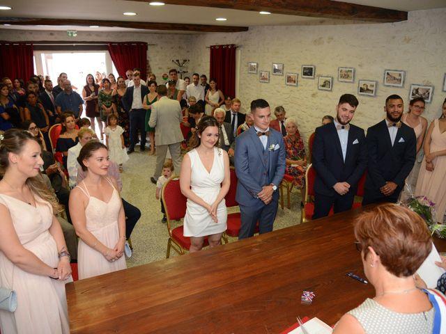 Le mariage de Evan et Ornella à Château-sur-Epte, Eure 41
