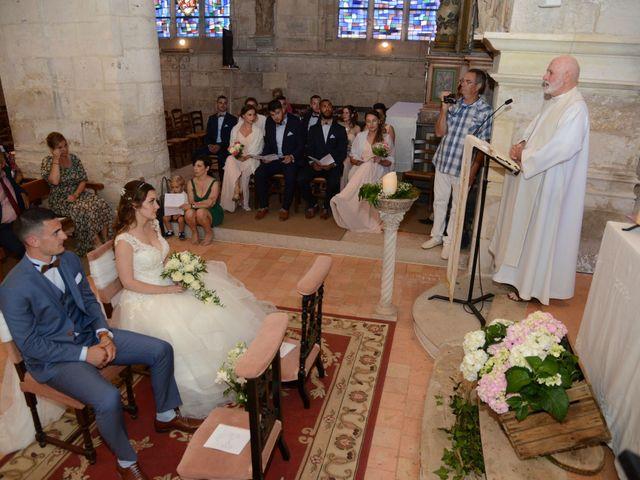 Le mariage de Evan et Ornella à Château-sur-Epte, Eure 50