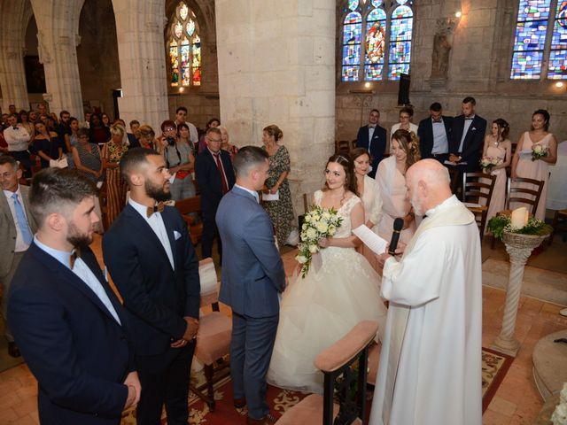 Le mariage de Evan et Ornella à Château-sur-Epte, Eure 53