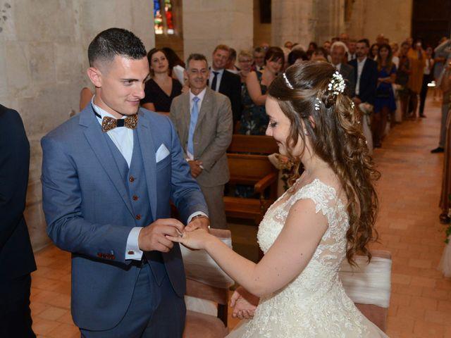 Le mariage de Evan et Ornella à Château-sur-Epte, Eure 56
