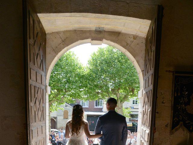 Le mariage de Evan et Ornella à Château-sur-Epte, Eure 61
