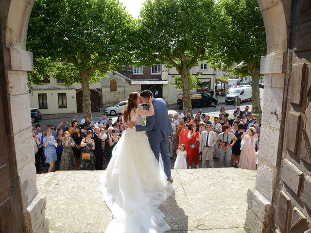 Le mariage de Evan et Ornella à Château-sur-Epte, Eure 62