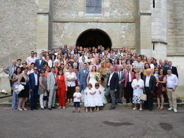Le mariage de Evan et Ornella à Château-sur-Epte, Eure 63