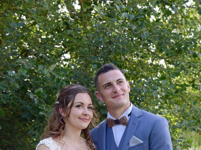Le mariage de Evan et Ornella à Château-sur-Epte, Eure 65