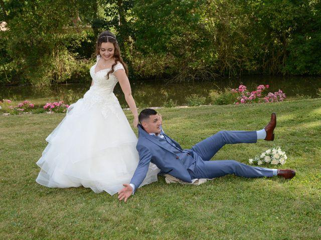 Le mariage de Evan et Ornella à Château-sur-Epte, Eure 74