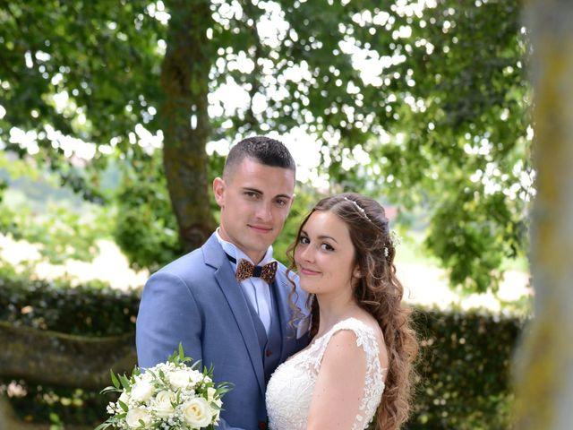 Le mariage de Evan et Ornella à Château-sur-Epte, Eure 78