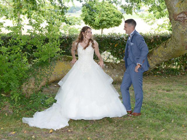 Le mariage de Evan et Ornella à Château-sur-Epte, Eure 79