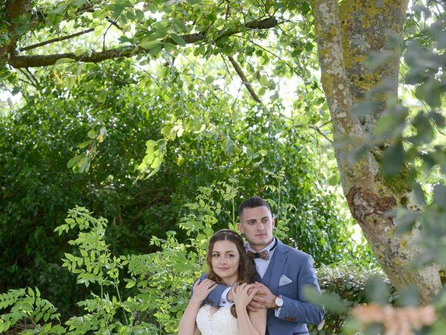Le mariage de Evan et Ornella à Château-sur-Epte, Eure 81