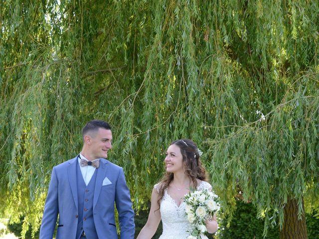 Le mariage de Evan et Ornella à Château-sur-Epte, Eure 91