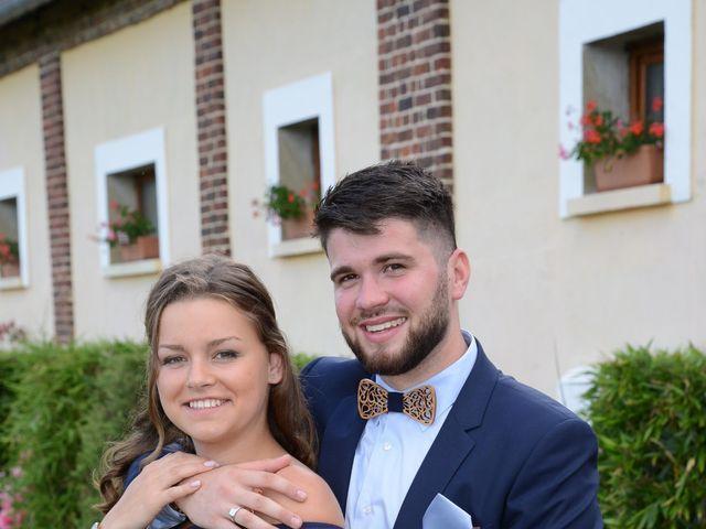 Le mariage de Evan et Ornella à Château-sur-Epte, Eure 94
