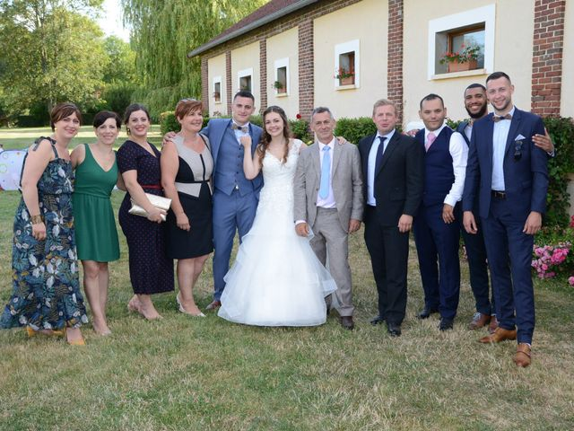 Le mariage de Evan et Ornella à Château-sur-Epte, Eure 95