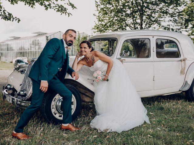 Le mariage de Benoit et Virginie à Gensac-la-Pallue, Charente 17