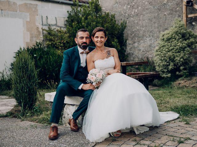 Le mariage de Benoit et Virginie à Gensac-la-Pallue, Charente 16