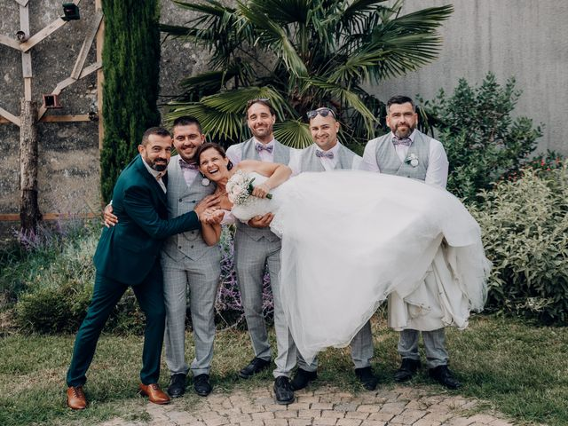 Le mariage de Benoit et Virginie à Gensac-la-Pallue, Charente 25